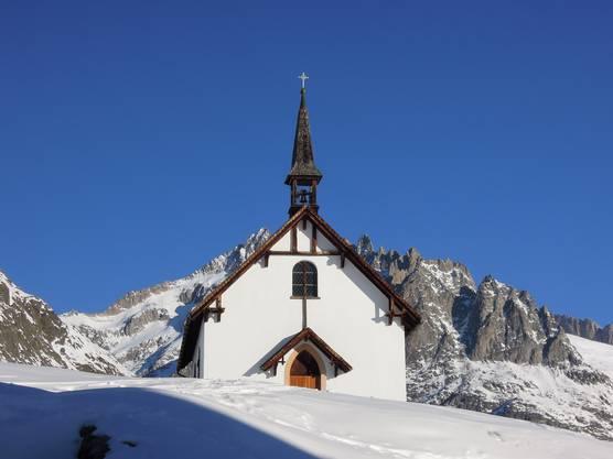 Wunderschöner Platz für eine Kapelle ... Belalp im Wallis