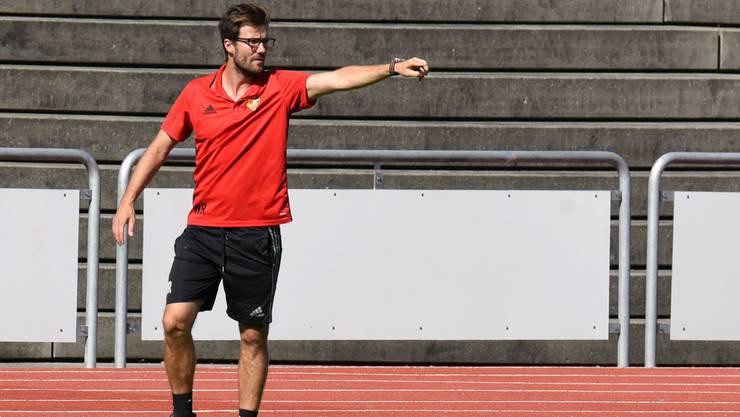 Für Trainer Raphael Wicky und seine Mannschaft führt der Weg in die Playoffs der Uefa Youth League.