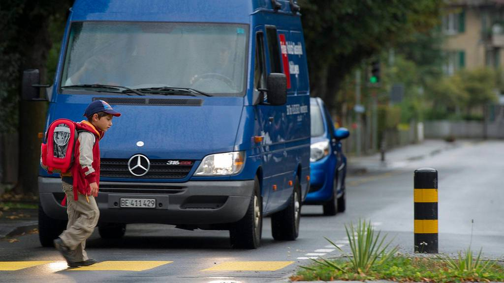 In einer Woche startet die Schule: BFU mahnt Autofahrer zur Vorsicht
