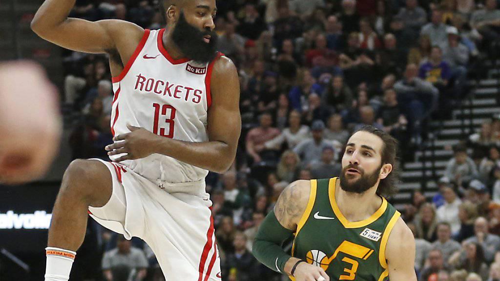 James Harden war bei den Houston Rockets erneut überragender Akteur mit 43 Punkten