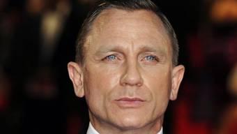 Der berühmteste Geheimagent der Filmgeschichte wird derzeit vom Briten Daniel Craig verköpert (Archiv)