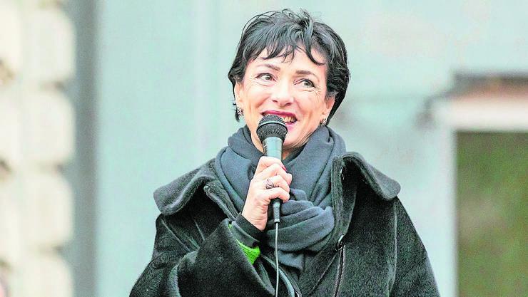 Hat trotz Nicht-Wahl das Lächeln nicht verloren: CVP-Politikerin Marianne Binder aus Baden.