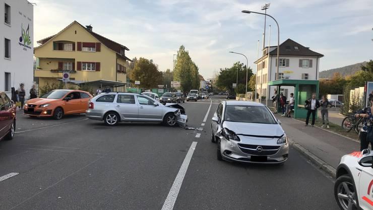 Unfall im Feierabendverkehr mit Totalschaden