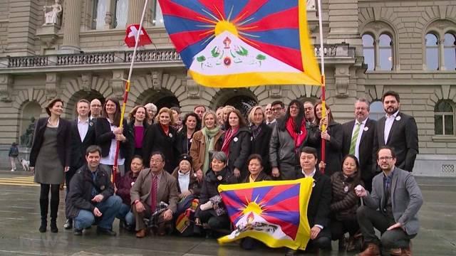 Protest für Tibet
