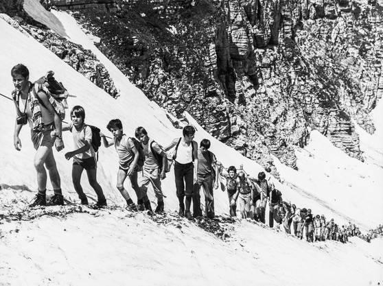 Ausflug ins Toggenburg im Jahr 1977.