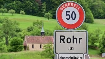 Am 8.Juni wird die wohl letzte Gemeindeversammlung von Rohr als eigenständige Gemeinde stattfinden.