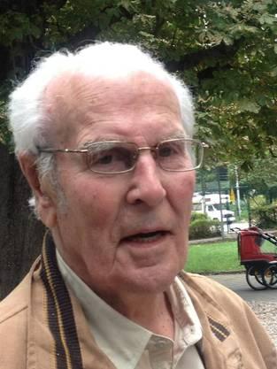 Werner Haas wird 90