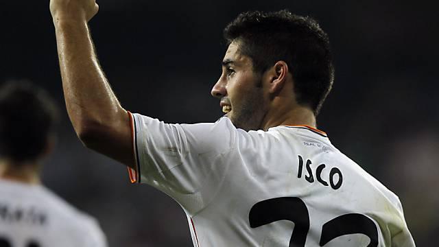Isco traf beim 3:1-Erfolg von Real Madrid gleich doppelt