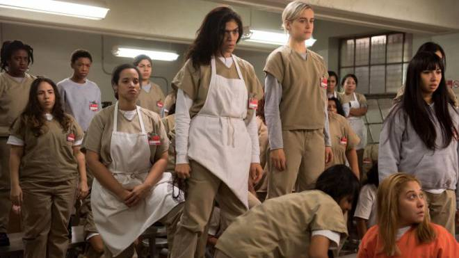 Konkurrenz für DVD-Händler: Die Netflix-Serie «Orange is the New Black». Foto: HO