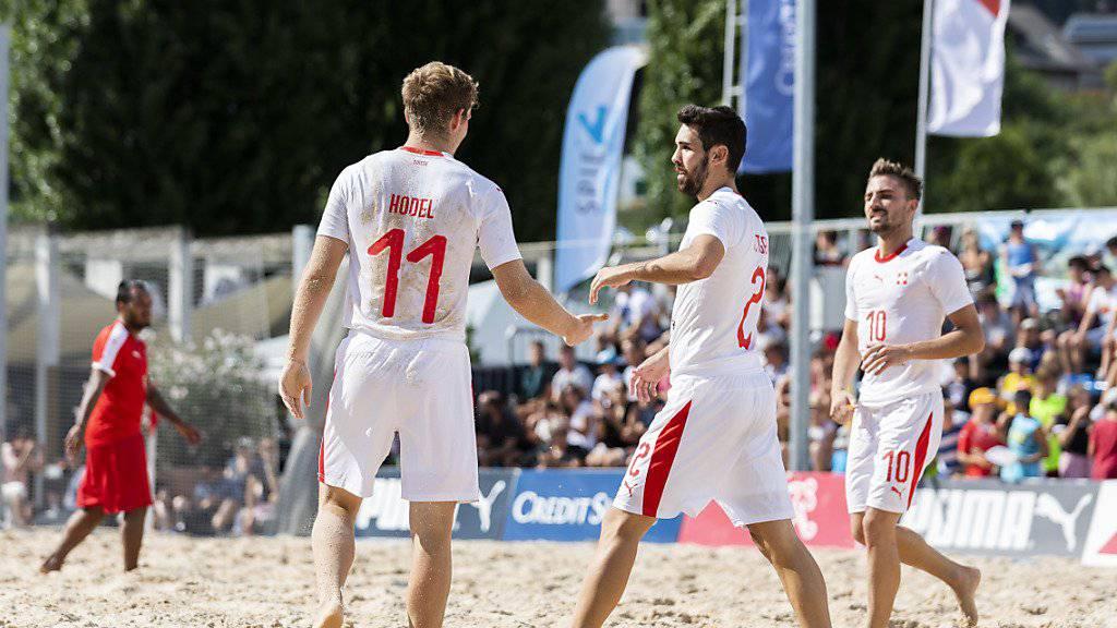Schweizer Beachsoccer-Nati für WM qualifiziert