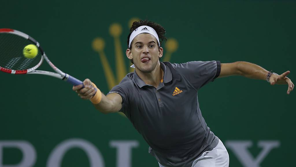 Der Einsatz hat sich gelohnt: Der Österreicher Dominic Thiem steht beim Heimturnier in Wien erstmals im Final.