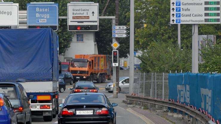 Parkleitsystem Baden. 13.09.2007.