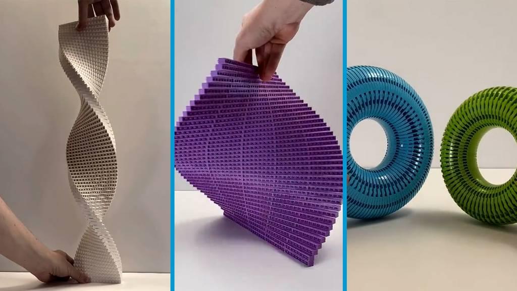 Tiktoker macht aus Legosteinen Kunst