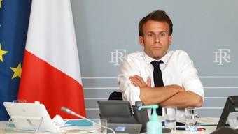 Will sein Land mit der «StopCovid»-App aus der Krise führen: Frankreichs Präsident Emmanuel Macron.