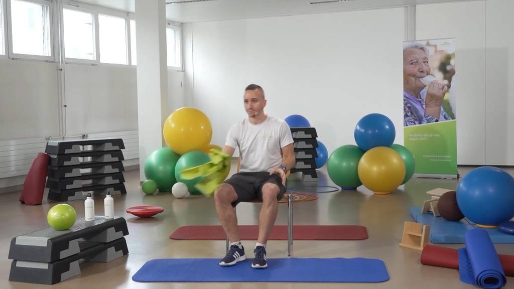 «Gymnastik im Wohnzimmer» vom 30. April 2021