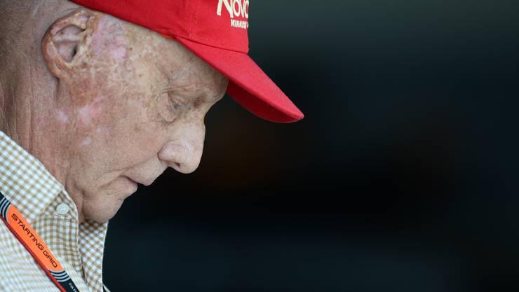 Niki Lauda vor vier Jahren beim GP von Malaysia in Sepang. Der Österreicher verstarb am 20. Mai 2019 im Alter von 70 Jahren in Zürich.