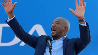 Mmusi Maimane, der erste schwarze Chef der grössten Oppositionspartei Südafrikas, ist zurückgetreten. (Archivbild)