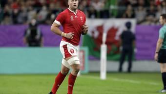 Sorgte sechs Minuten vor Schluss mit seinem Try für die Entscheidung zugunsten von Wales: Ross Moriarty