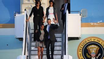 Obama ist erneut in Berlin