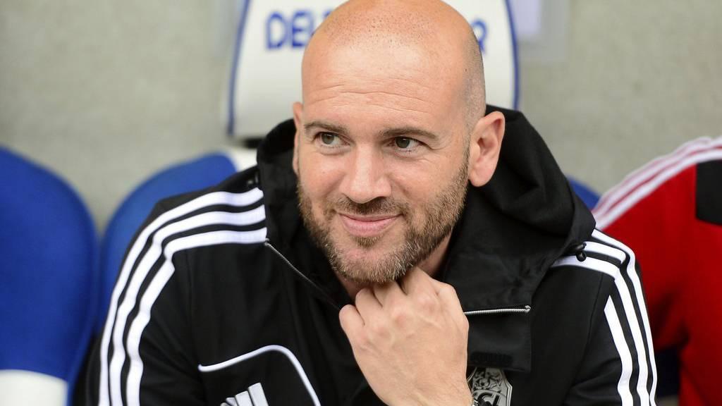 Roland Vrabec zu seinen FC Luzern Zeiten. Laut unbestätigten Informationen soll er neuer FC Vaduz Trainer sein.