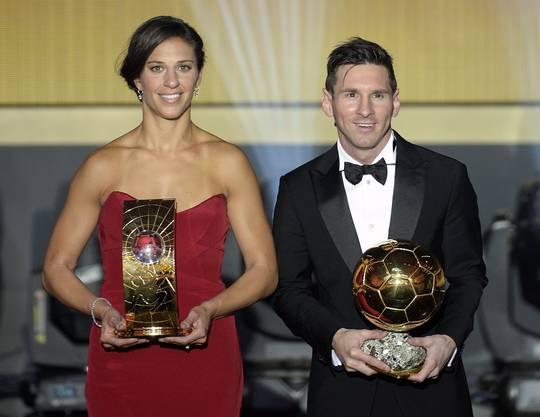 Die Amerikanerin Carli Lloyd wurde Fussballerin des Jahres.