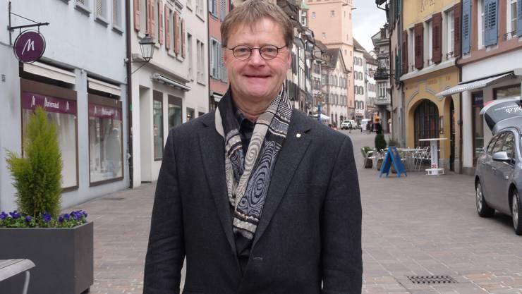 Der Rheinfelder Stadtrat Hans Gloor (parteilos) kandidiert für eine zweite Amtszeit.