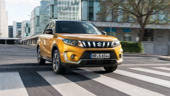 Zeitlos und schlicht statt unnötig effekthascherisch: Das Design des Suzuki Vitara fällt nicht sonderlich auf – verleidet dafür aber auch nicht.