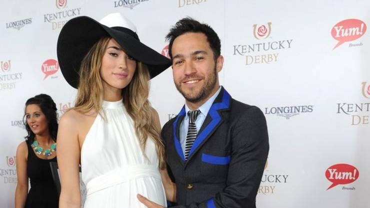 Rocker Pete Wentz und seine Freundin Meagan Camper erwarten das zweite gemeinsame Kind. (Archivbild)