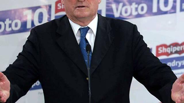 Albaniens Regierungschef Sali Berisha