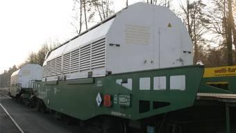 Atommüll-Transport ins Zwilag in Würenlingen (Archiv)