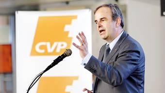 Die CVP mit ihrem Chef Gerhard Pfister hat diese Woche auf Aufregung gesorgt.