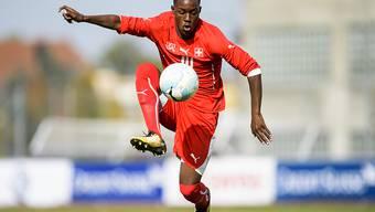 Felix Mambimbi erzielte schon in der ersten Halbzeit zwei Tore