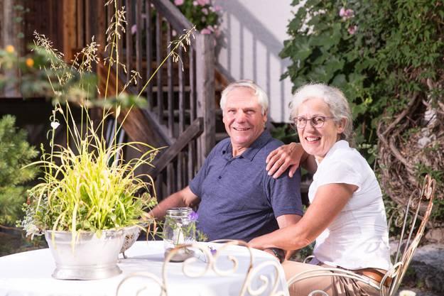 Für das Ehepaar Schibli war immer wichtig, dass es kein englischer Garten werden sollte, sondern ein Garten zum Benutzen und Wohlfühlen.