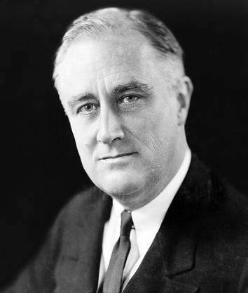 2.Franklin D. Roosevelt (1932 und 1936)60,80%