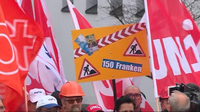 Baubranche wehrt sich gegen tiefe Löhne