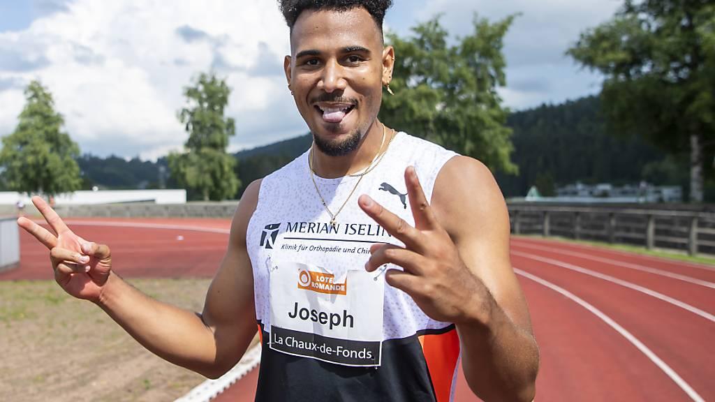 Schweizer Rekorde durch die Sprinter Del Ponte und Joseph