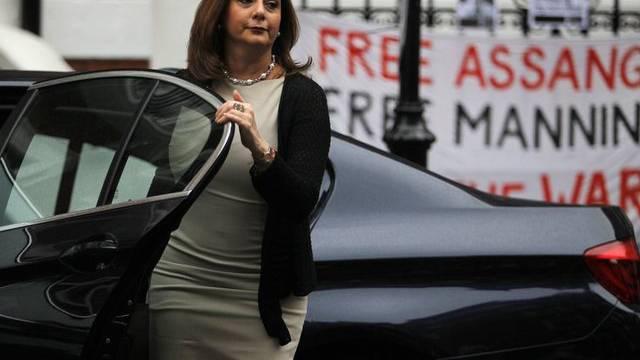 Die ecuatorianische Botschafterin Ana Albán in London (Archiv)
