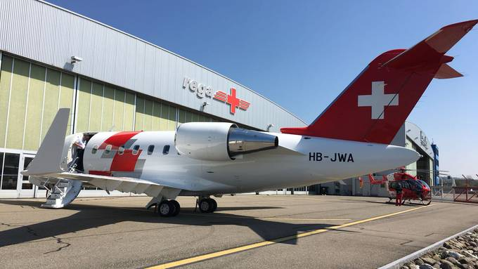 Die REGA bekommt neue Ambulanz-Jets