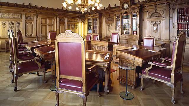 Blick ins Bundesratszimmer: Auch die Amtsführung des Bundesrates soll untersucht werden (Symbolbild)