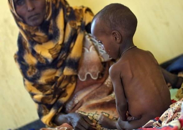 Die Anzahl der von Hunger betroffenen Menschen nähert sich einer Milliarde.