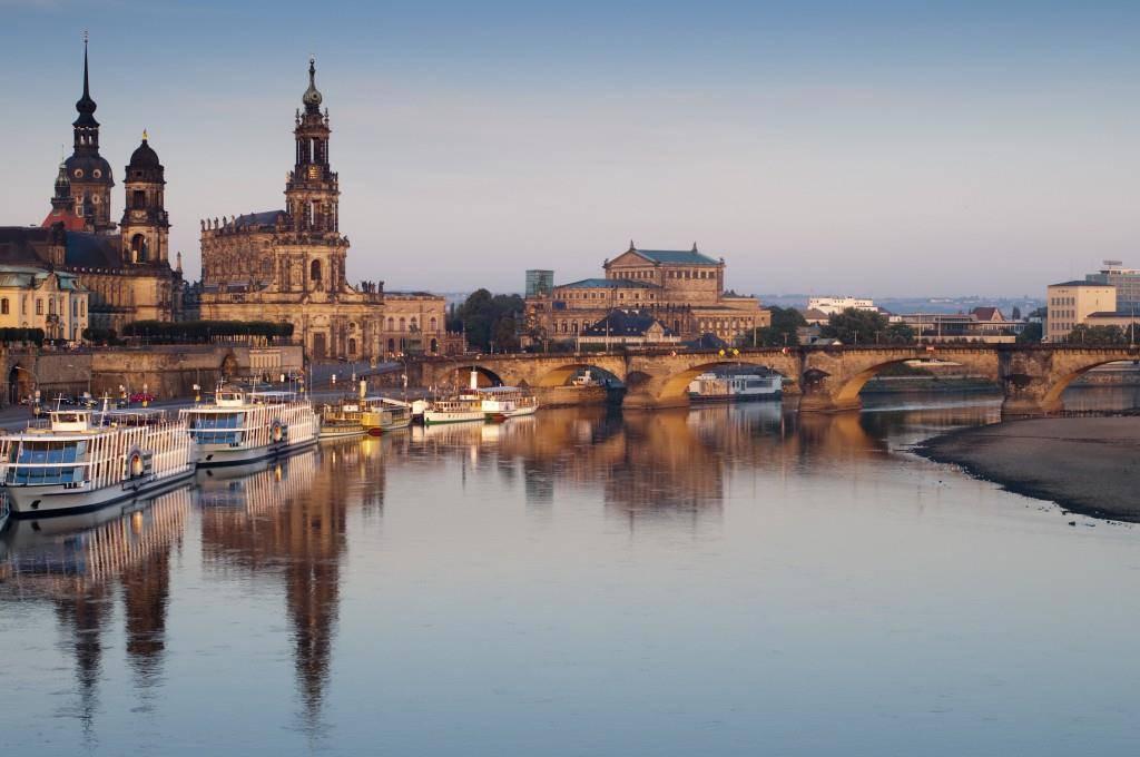 Dresdens Skyline ist wunderschön