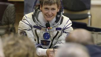 Niemand war bisher länger im All als die US-Astronautin Peggy Whitson. Nun zieht sie sich zurück. (Archivbild)