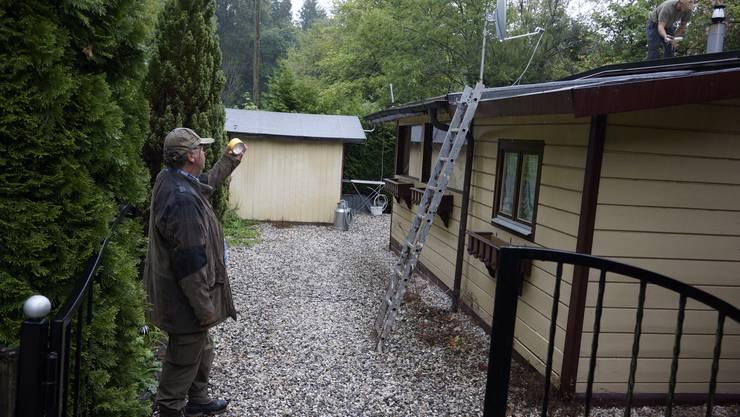 Die Familie Huber will nicht auf den Standplatz Flumenthal umziehen, sondern in Rüttenen bleiben. Anfang Januar müssen sie weg sein.