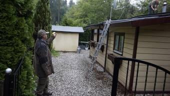 Die Familie Huber muss die Anlage nahe dem Steinbruch Bargetzi in Rüttenen verlassen. Archiv
