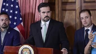 Seit Wochen wird gegen ihn demonstriert: Puerto Ricos Gouverneur Ricardo Rosselló. (Archivbild)