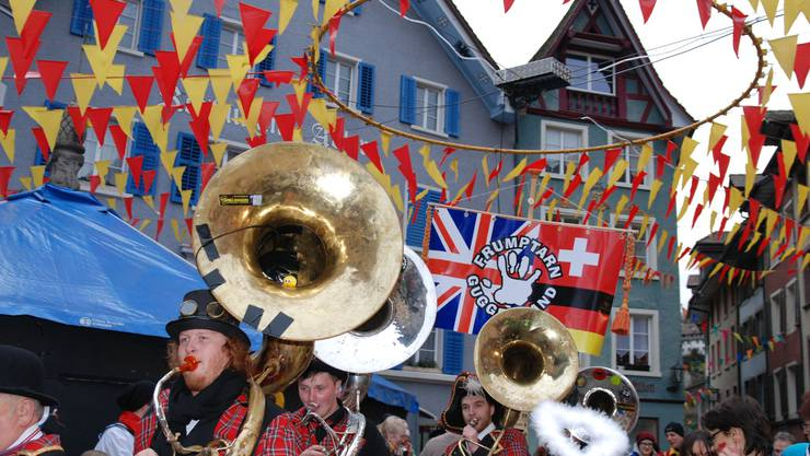 Guggenmusik aus England