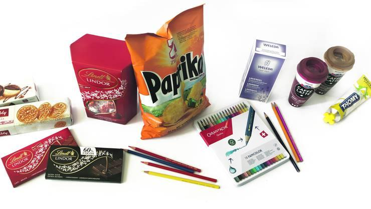 Produkte wie Zweifel Chips, Lindt-Schokolade oder Caffè Latte sind in Deutschland teilweise um ein Vielfaches günstiger.