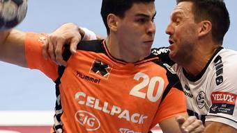 Kadettens Luka Maros steuerte zwei Tore zum 35:26-Siege gegen St. Otmar bei
