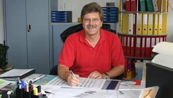 Bruno Bider, Kommandant der Feuerwehr Grenchen, sorgte für Schlagzeilen.