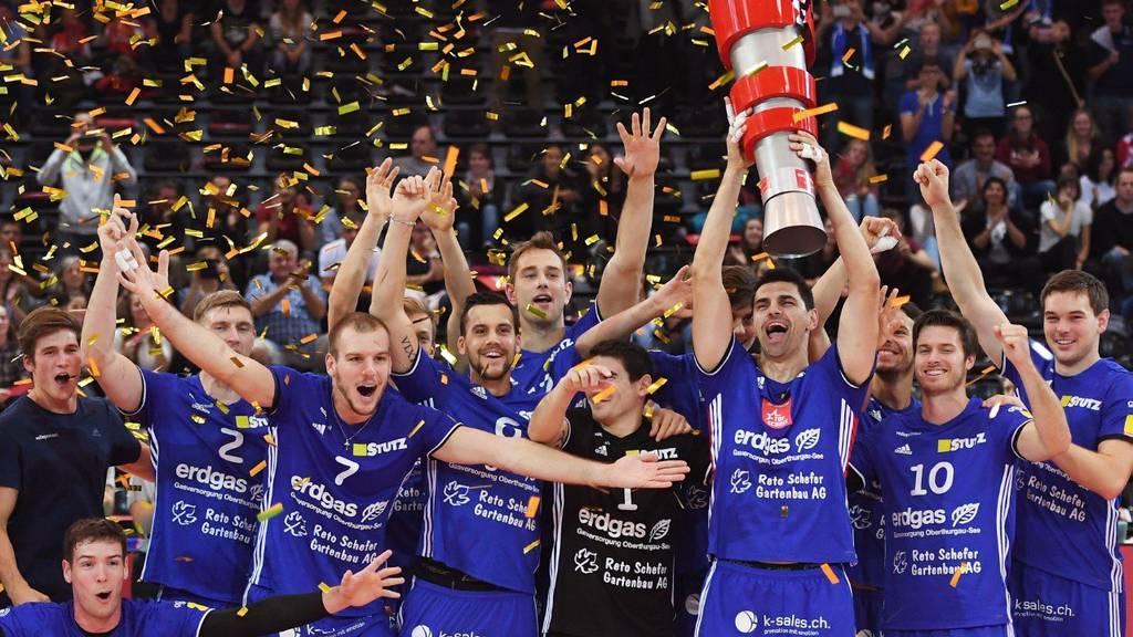 Der Meister gegen den Cupsieger - Amriswil setzte sich durch.